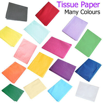 Tissue Paper Sheets Gift Wrapping Present Wrap Postal Packaging Box Hamper UK