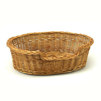 Small Wicker Cat Basket Well Made No Chemicals