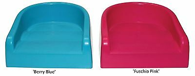 Prince Lionheart Childs SOFT BoosterSEAT (Berry Blue or Flashbulb Fuschia)