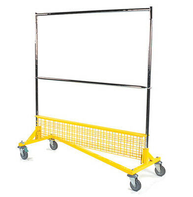 "RGR series of rolling garment ""Z"" racks - $125 (HAZELWOOD / ANYWHERE)"