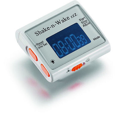 shake n wake silent vibrating alarm clock (watch, vibrate, deaf and blind)