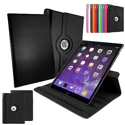 PU Leather 360° Rotating Smart Stand Case Cover For APPLE iPad PRO 12.9 inch