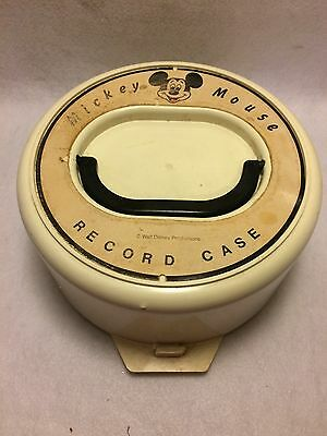 Vintage Mickey Mouse Record Case