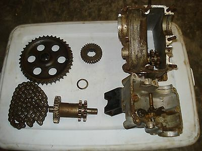 1970 Skidoo Alpine 399 R Bombardier Transmission Gears Chain and Housing