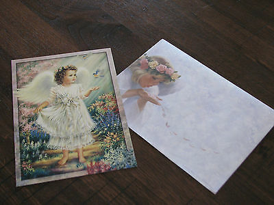 Tree Free Greeting Card - Young Angel