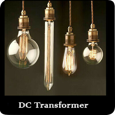 Dimmable 60W Vintage Retro Antique Filament Bulb Industrial Style Lights Edison