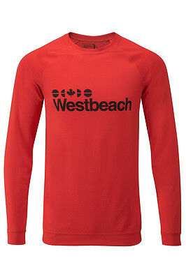 Westbeach Men's Clamato Baselayer Thermal Cocona Yarn Top. Various Sizes RRP £50