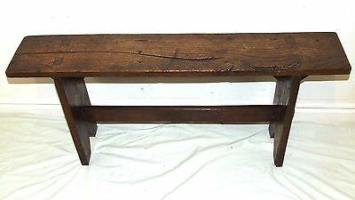 Antique Rustic Bench / Occasional Table / Lamp Stand / Coffee Occasional Table