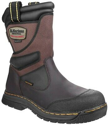 DR MARTENS Turbine S3 brown composite safety rigger boot with midsole size 6-13