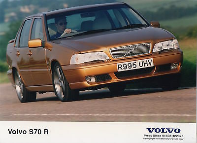 Volvo S70 R Press Photograph - 1997
