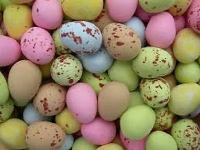 Milk Chocolate Mini Eggs Assorted Colours Sweets Wedding Party Favours Easter