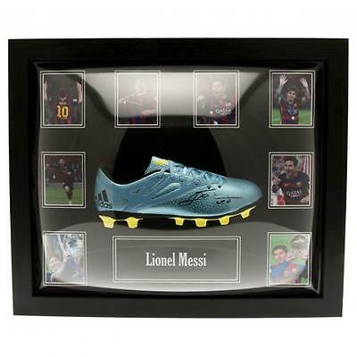Lionel Messi - Framed Signed Football Boot