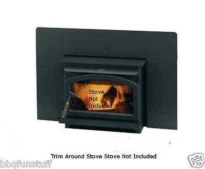 Lennox Country Wood Stove Insert Black Side & Top Flanges 1) 71038 2) 71032  ***