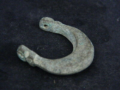 Ancient Bronze Moon Pendant,Bronze Age 500 BC  #GL1620