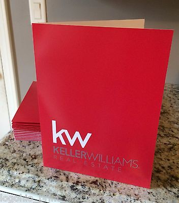 (50) Keller Williams Presentation Folders - The Best Quality !