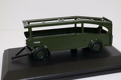 OO Scale Oxford Post Office Car Transporter Trailer 76LTR002T FNQHobbys (0X106)