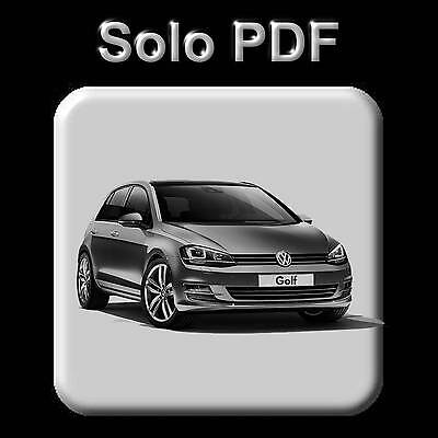 Volkswagen Golf 7 (2012-2016) - Workshop, Service, Repair Manual - Wiring