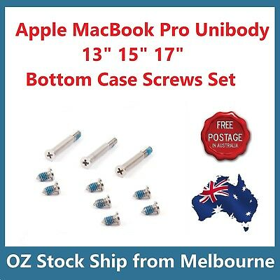 "NEW Apple MacBook Pro 13"" 15"" 17"" A1278 A1286 A1297 Bottom Case Screws Set"