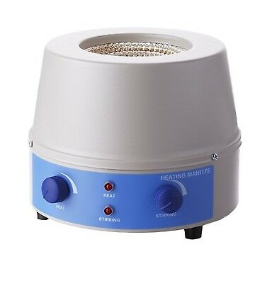 Analog Stirring and Heating Mantle 1000mL, 0~1400rpm, 380℃ - by JoanLab®