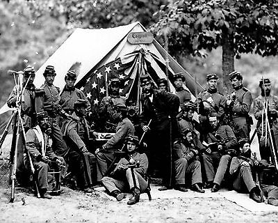 PHOTO PRINT 1891-1865 AMERICAN CIVIL WAR 03