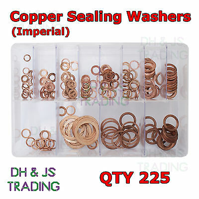 "10 per pack Old Stock BS1083 Imperial Copper Washers- 3//16/"" Part No"