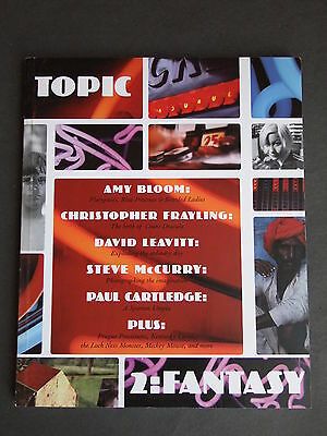 Topic Magazine Issue 2 - Fantasy - published 2002 edited by David Haskell