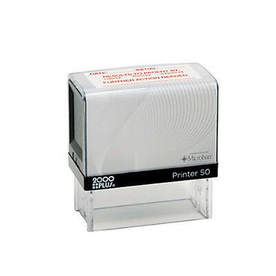 Custom 7 Line COSCO P50 Return Address Self Inking Personalized Rubber Stamp