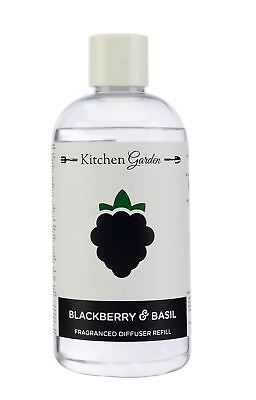 Wax Lyrical Blackberry and Basil 250ml Reed Diffuser Refil Oil NEW