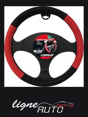 Couvre volant sport X-treme Mesh noir / rouge auto voiture camping car tuning