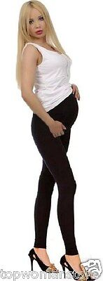 Original Top Woman Maternity Cotton Leggings Over Bump Pregnancy Clothes
