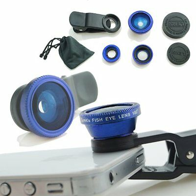 CamKix Universal 3 in 1 Cell Phone Camera Lens Kit for Smartphones including - /