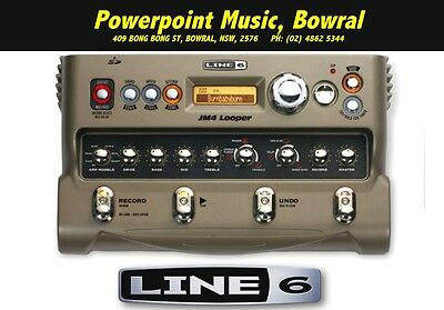 Line 6 JM4 Looper With Built in EFX and Amp Tones  + Free Shipping