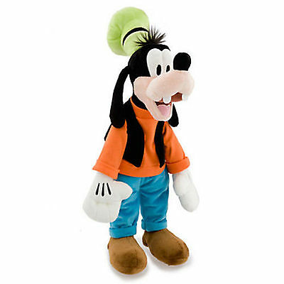 """Disney Store Mickey Mouse Clubhouse GOOFY 18"""" 46cm Soft Plush Toy Doll"""
