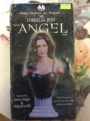 2001 Moore Creations Buffy The Vampire Slayer Angel Series CORDELIA Bust Painted