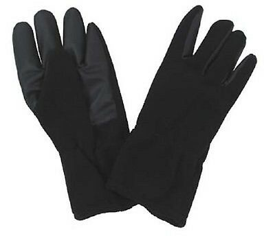 Fleece Finger Winter Gloves Alpine black windproof Gloves black XXL