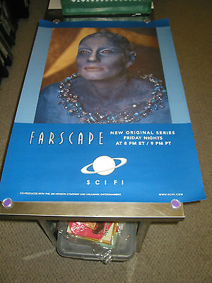 Farscape/ Orig. Syfy Channel Promo Poster (Virginia Hey)