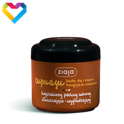 ZIAJA CUPUACU SUGAR BODY SCRUB PEELING EXFOILATING AND SMOOTHING 200ml  00721