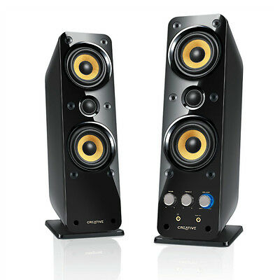 Creative GigaWorks T40 Series II 2.0 Multimedia Speaker System with BasXPort™