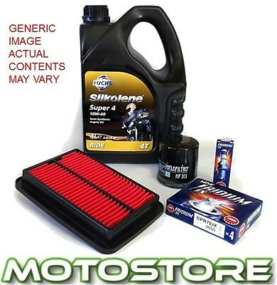 Kawasaki Zx6R 1998-2001 Super 4 Service Kit Spark Plug Oil Air Filter
