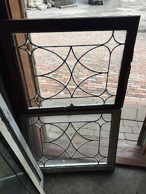 Sg 472 Two Available Price Separate Antique Beveled Center Windows