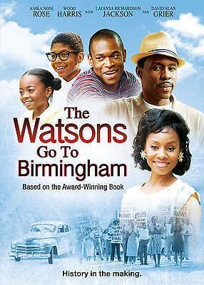 The Watsons Go To Birmingham (DVD 2013) Anika Noni Rose, Wood Harris, David Alan