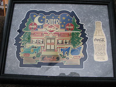Rare Coca Cola Vintage 1950 Diner Brand Pins Pin Set Limited Edition 638 Of 1000