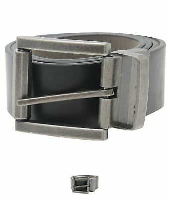 MODA Firetrap Reverse Belt Black/Grey