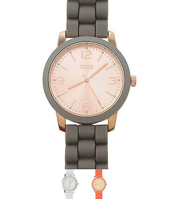 GINNASTICA SoulCal Silicone Watch Ladies White