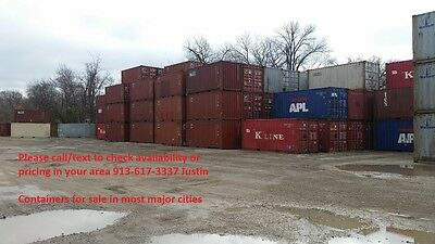 40' High Cube Shipping / Storage Container - Kansas City, MO