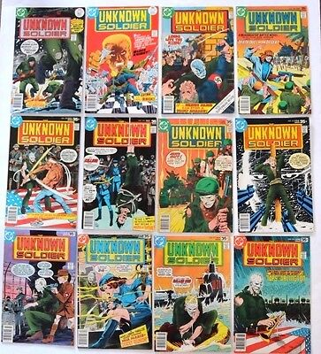 Unknown Soldier 1977 #205 To 268 Complete Series Enemy Ace,capt.storm More..