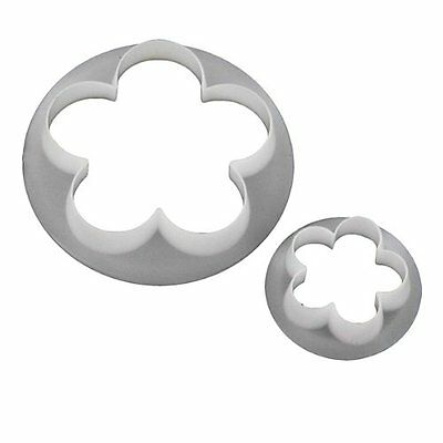 FMM Cutter Blossom Set Large Icing Flower Tool Stencil Cutting Cut Out Shape