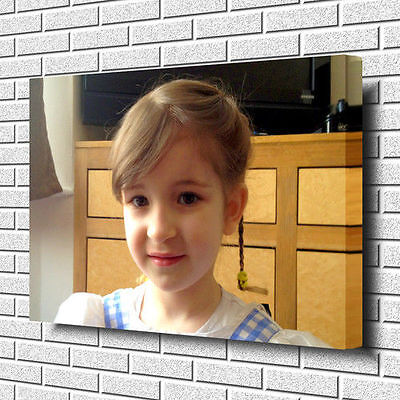"YOUR PERSONALISED PHOTO PICTURE PRINT on to a Box Canvas A1 Square 20"" x 20"""