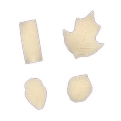 FMM Veining Mat 5 - 8 Fondant Emboss Leaf Leaves Autumn Cake Icing Decoration