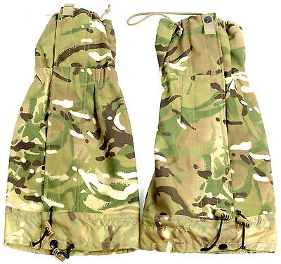 British Army Gaiters Gs Mk2 Mtp Size - Standard (To Fit Boot 4 To 12 )